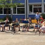 Schulfest Bläserklasse 2016-1