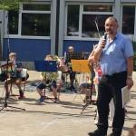Schulfest Bläserklasse 2016-2